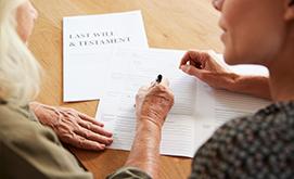 Obtén la declaratoria de herederos establecidos por ley.